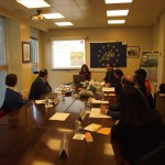 Moment of the 1st following meeting: dissemination aspects