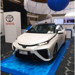 Hydrogen car in WHTC2015